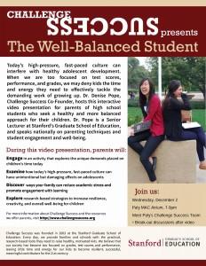 Well-balanced flyer