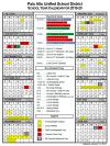 2019-2020 PAUSD Calendar